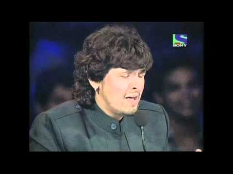X Factor India - Sonu Nigam does the female part of Aaj Ki Raat- X Factor India - Episode 22 - 29th Jul 2011 -wKyhvJhOs3A