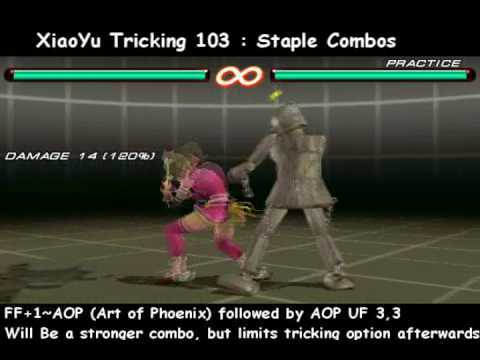 Tekken 6 BR - Xiaoyu Combo/Tricking Guide [PSP Guaranteed]