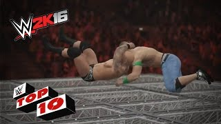 getlinkyoutube.com-RKOs From Outta Nowhere!: WWE 2K16 Top 10