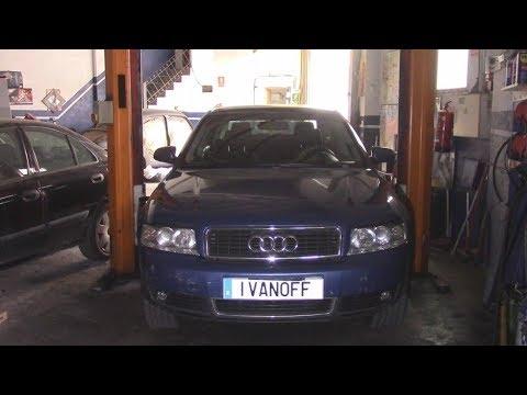 Ремонт автомобиля Audi A4 2001 Motor ALT Замена радиатора охлаждения и приятный подгон