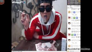 getlinkyoutube.com-아프리카TV BJ턱형  담배거북선1