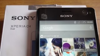 getlinkyoutube.com-Sony Xperia C4 Unboxing