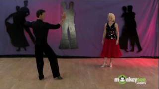 getlinkyoutube.com-Ballroom Dancing - The Tango Promenade