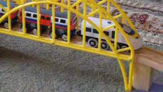 download video toy train metro north morning rush hour part 1