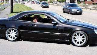 getlinkyoutube.com-VIP Mercedes CL500 AMG on D2 Forged VS7 with custom finish