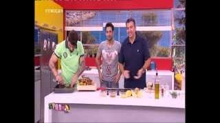 getlinkyoutube.com-tvshow.gr: Αρνίσιο μπούτι στο φούρνο με πατάτες (A' μέρος)