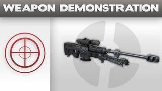 getlinkyoutube.com-Weapon Demonstration - UNSC Sniper Rifle System