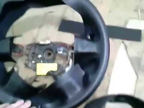 Обтяжка рулей каучуком часть1