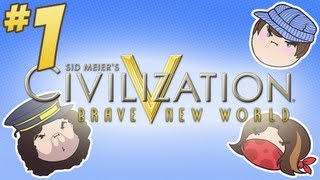 getlinkyoutube.com-Civilization V: Brave New World - PART 1 - Steam Train