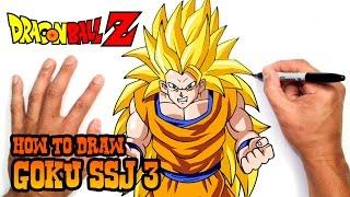 getlinkyoutube.com-How to Draw Goku SSJ 3   Dragon Ball Z