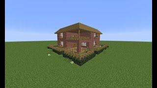 MINECRAFT Jak zrobić ładny domek/How to build a nice house #6