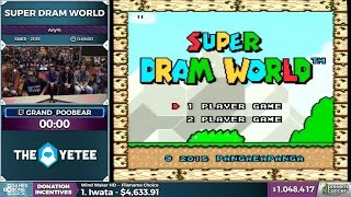 Awesome Run of Super Dram World @ AGDQ with Grand Poo Bear