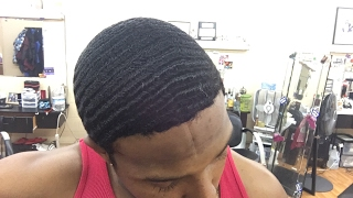 getlinkyoutube.com-Live 360 Wave Haircut: From Wavy Quis The Barber!!