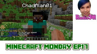 getlinkyoutube.com-MINECRAFT MONDAY EP17 - Online Game Play with Gamer Chad!
