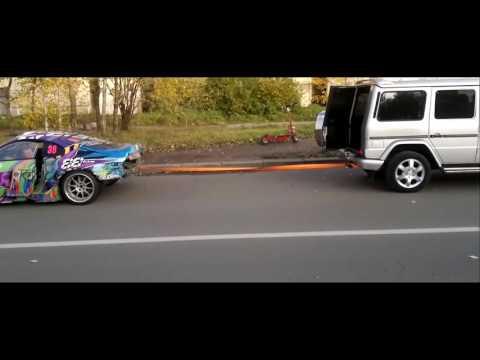 Toyota Supra против Mercedes ...