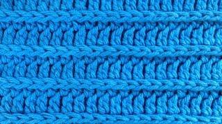 getlinkyoutube.com-Crochet Royal Ridge Stitches - Free Dishcloth Pattern