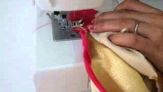 getlinkyoutube.com-Umbrella Dress- Stitching and Finishing - Part 3