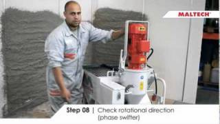 getlinkyoutube.com-Maltech M5-EVO - Plastering machine
