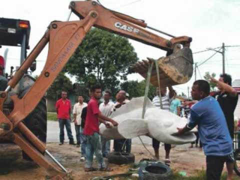 Ikan Haruan 200kg Terengganu