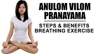 getlinkyoutube.com-How to do Anulom Vilom Pranayama   Breathing Exercise - Steps and Benefits