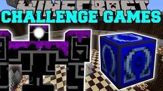 getlinkyoutube.com-Minecraft: ROBO POUNDER CHALLENGE GAMES - Lucky Block Mod - Modded Mini-Game