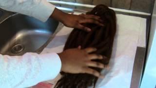 getlinkyoutube.com-La préparation des extensions de cheveux
