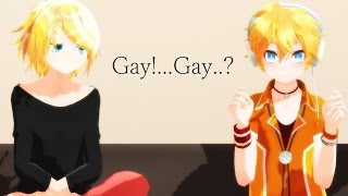 [MMD ViNe] Gay!...Gay..? [ Dl in Desc]