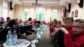 Orlicy i Młodzicy Chemika K-KOŹLE w Urzędzie Miasta KĘDZIERZYN- KOŹLE