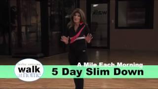 getlinkyoutube.com-Leslie Sansone: 5 Day Slim Down- A Mile Each Morning