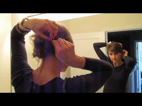 How To Make A Low Messy Bun (Hairstyle)