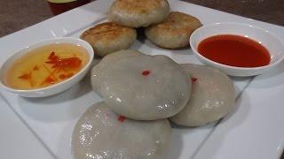 getlinkyoutube.com-Chinese Leaf Cake Recipe (Noum Ka Chi)