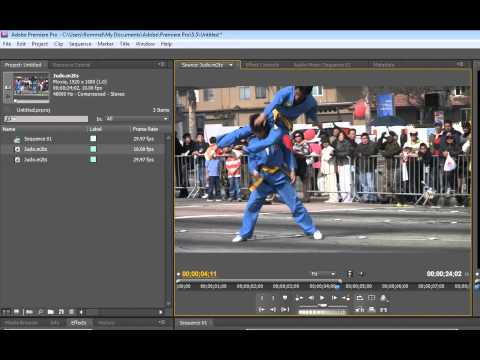 Adobe Premiere Pro CS 5.5  Slow Motion