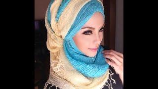getlinkyoutube.com-🌟Hijab Tutorial-05🌟 Cara Memakai Jilbab Pashmina Style Soft Blue (Up to date)