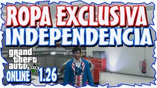 getlinkyoutube.com-GTA 5 ONLINE 1.26 - CONSEGUIR ROPA EXCLUSIVA DLC INDEPENDENCIA - TODAS LAS CONSOLAS