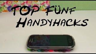 getlinkyoutube.com-Life Hacks Handy / Cellphone TOP 5 Smartphone Hacks ganz schnell und einfach  Life Hacks mit Eva