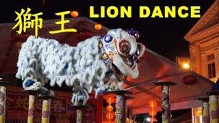 getlinkyoutube.com-2013 LION KING KSK Kun Seng Keng high pole lion dance in Kajang CNY 2013