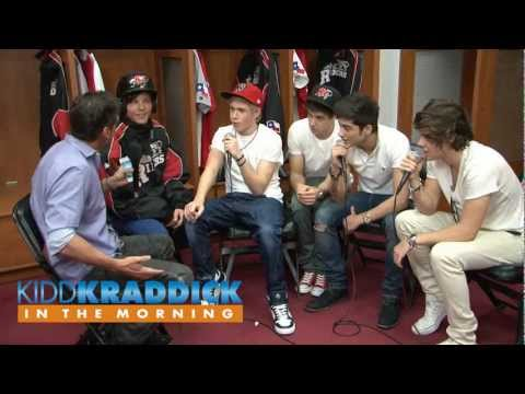 EXCLUSIVE One Direction Backstage Interview - Kidd Kraddick in the Morning