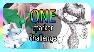 getlinkyoutube.com-One Marker Challenge - with help!