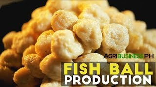 getlinkyoutube.com-Fish Ball Production : How to Make Fish Ball | Agribusiness Philippines