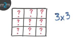 getlinkyoutube.com-Resolver le cuadrado mágico 3x3. Solving 3x3 magic square