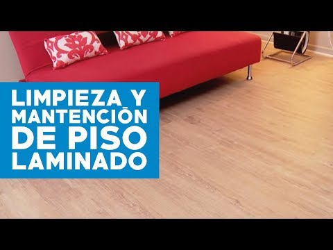 ¿Cómo limpiar y mantener un piso laminado?