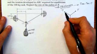 getlinkyoutube.com-Chapter 2 and 3 Particle Equilibrium Dot product, 3-D Particle Equilibrium