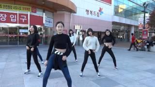 2015년3월7일 진해댄스팀 ReVenGe 제2회여성의날 길거리공연