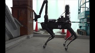 Spot Robot Testing at Construction Sites width=