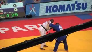 getlinkyoutube.com-Teddy RINER aux Championnats du Monde de judo à Bercy le 27 août 2011