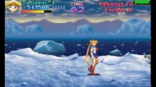 getlinkyoutube.com-Pretty Soldier Sailor Moon - ARCADE Longplay (BANPRESTO) - Sailor Moon Playthrough (Full Gameplay)
