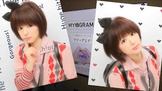 getlinkyoutube.com-【隠し撮りされた!】最新プリ機でプリクラを撮ってみた!【Japanese Photo Sticker Machine 'PURIKURA'】at YouTube Space Tokyo