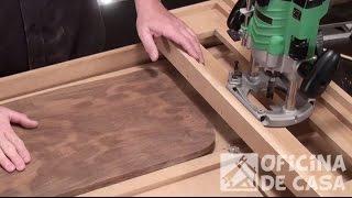 Tupia - Gabarito para aplainar peças de madeira