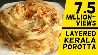 getlinkyoutube.com-How To Make Layered Soft Parotta / Kerala Paratta