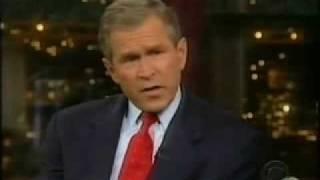getlinkyoutube.com-David Letterman - George Bush